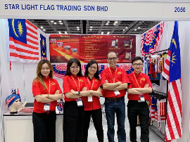 Star Light Flag Trading Exhibition Malaysia Gift Fair 2019