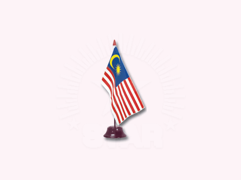 Malaysia Single Table Flag | 桌旗