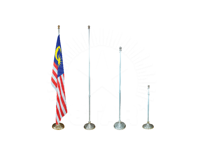 2.8 metres Adjustable Aluminium Indoor Flag Stand
